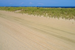 View of Bradley Beach on the New Jersey Shore, United States