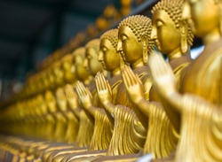 View of buddha statue in Thailand