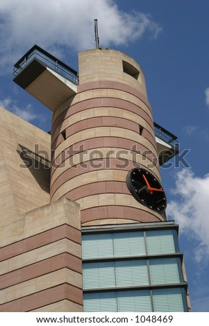 View of building with clock at One Poultry in london