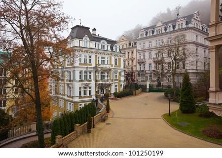 View of Carlsbad. Czech Republic