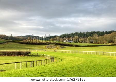 View of Cartmel Racecourse Stock photo ©