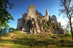 View of castle Hrusov