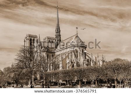 Cathedral Notre Dame De Paris A Most Famous Gothic Roman