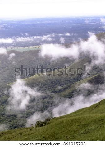 View of Chapada dos Guimaraes in Mato Grosso state, Brazil #361015706
