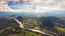 View of Chiang Rai city, Thailand