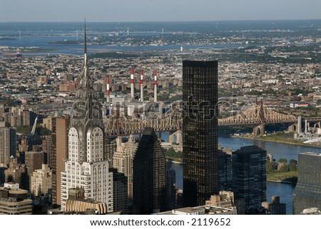 Chrysler Building Empire State Building. wall street Chrysler