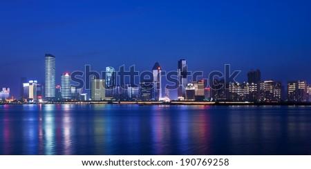 view of city night #190769258