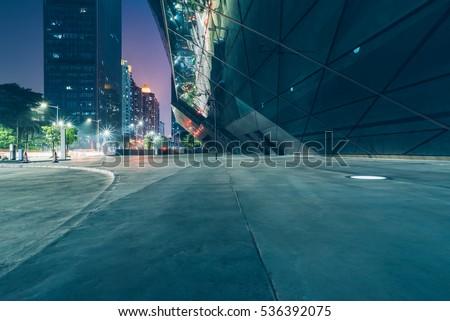 view of city square in Hong Kong,China.