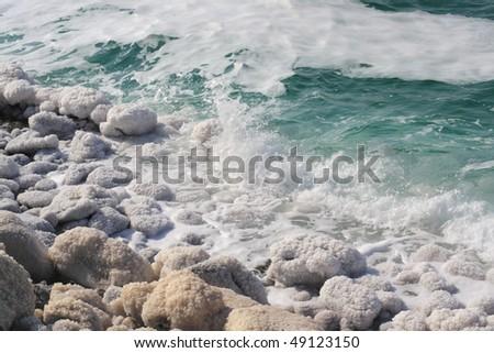 View of Dead sea. Jordan.