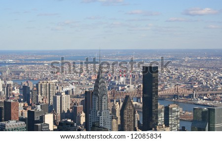 View of Downtown New York