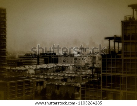 view of downtown toronto canada ...