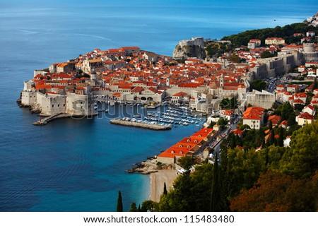 View of Dubrovnik. Croatia.