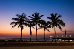 View of Durban Beachfront, South Africa