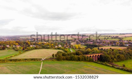 View of English Countryside in Kent