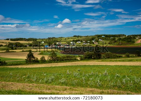 View of French River area of Prince Edward Island