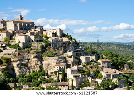 View of Gordes, Provence, France