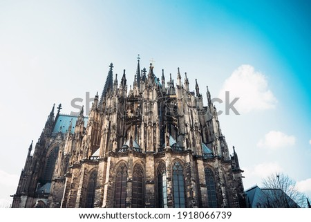 View of Gothic Cathedral in Cologne, Germany Photo stock ©