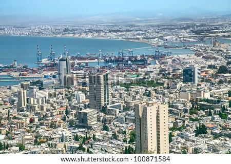 View of Haifa, Israel