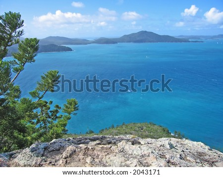 VIew of Hamilton Island (Queensland,  Australia)