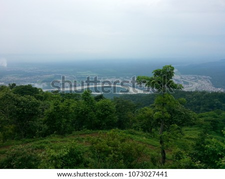 View of Haridwar from Neelkanth