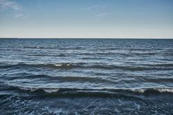View of horizon over the sea