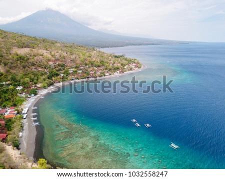 View of Jemeluk Bay, Amed