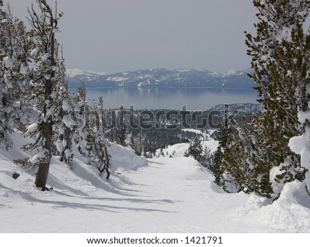 View of Lake Tahoe from Mt. Rose