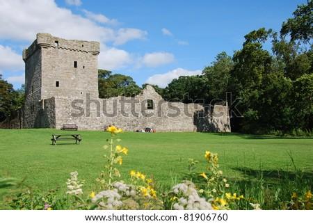 View of Loch Leven Castle