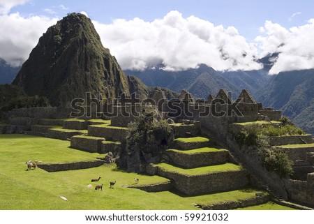 View of Machu Picchu, Peru