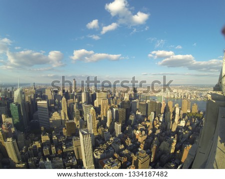 view of manhattan from above #1334187482