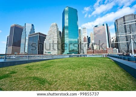 View of Manhattan, New York City. USA.