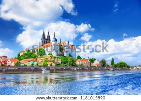 View of Meissen Castle, Germany