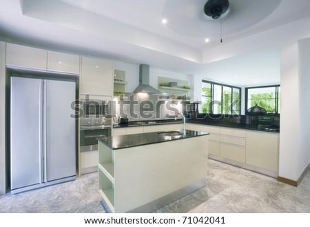 View of nice kitchen interior