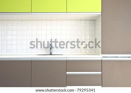View of nice kitchen interior