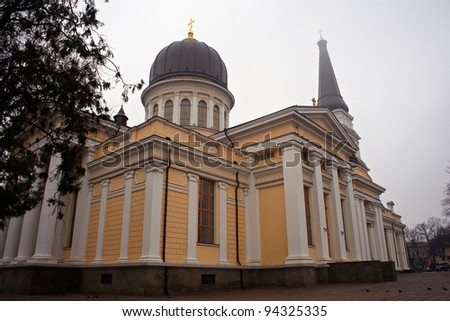 View of Nickolayev church, Odessa