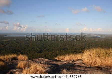 View of Noosa from Mount Cooroy, Sunshine Coast, Queensland, Australia