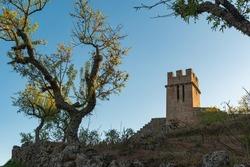 View of Numao Castle. Council of Vila Nova de Foz Coa. Portugal. Douro Region