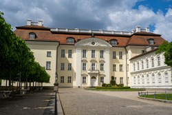 View of palace and courtyard called