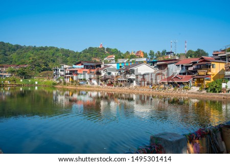 View of Pilok is a sub-district in Kasang District, Thong Pha Phum Province, Kanchanaburi Thailand. The main residence residence is Ban I-tong, a remote village on the Burmese border.