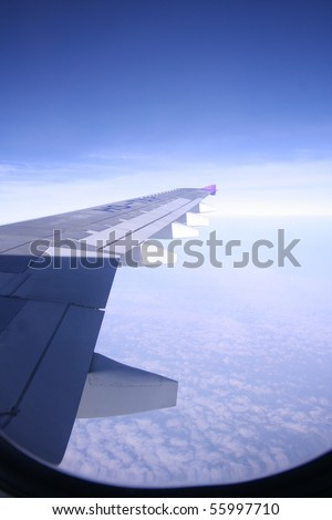View of plane