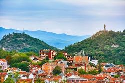 View of Plovdiv, Bulgaria