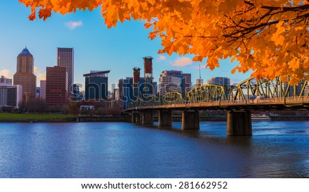 view of portland  oregon...