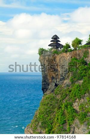 View of Pura Uluwatu temple, Bali, Indonesia