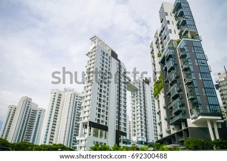 View of Residential Condominium Foto stock ©