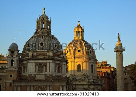 View of Rome. Italy