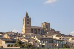 View of Sineu, Mallorca, Spain
