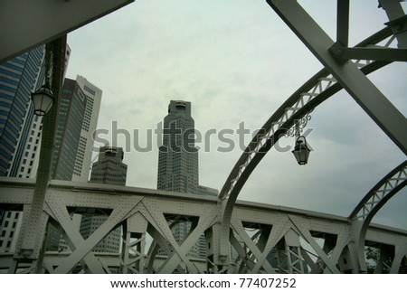 View of Singapore's City