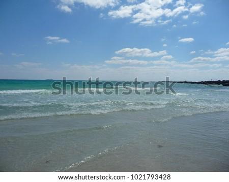 View of South Miami Beach, Florida, spring 2011