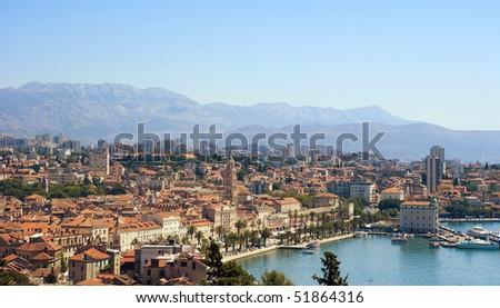 View of Split, Croatia