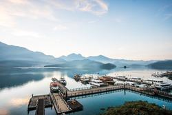 View of Sun Moon Lake, Nantou, Taiwan